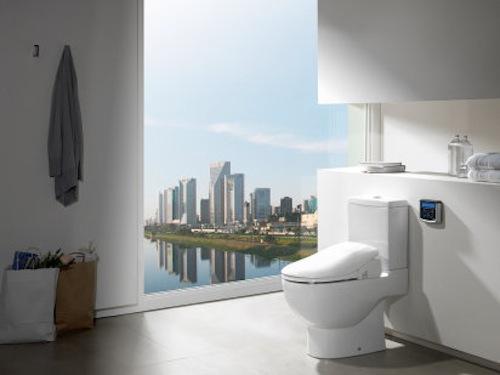 M s soluciones para ahorrar espacio un wc bid aqua for Espacio inodoro