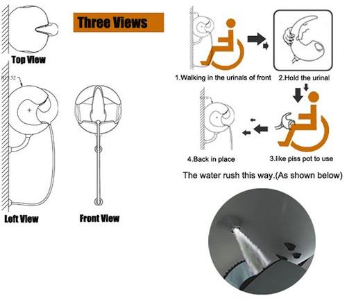 Inodoro de dise o para minusv lidos aqua for Inodoro minusvalidos