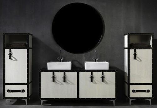 Armarios De Baño Pared:Un armario-maleta para el baño