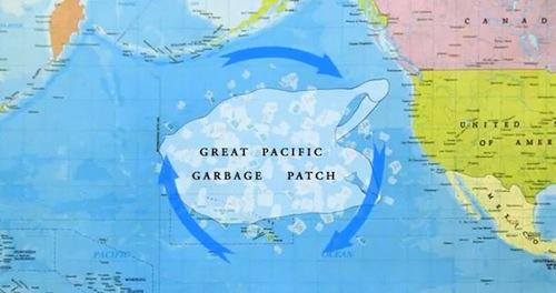 Una isla de basura en el océano del tamaño de Francia - aqua