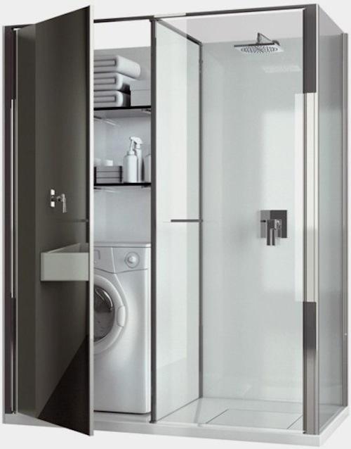 C mo integrar de una manera inteligente ba o y lavadora aqua - Lavadora en el bano ...