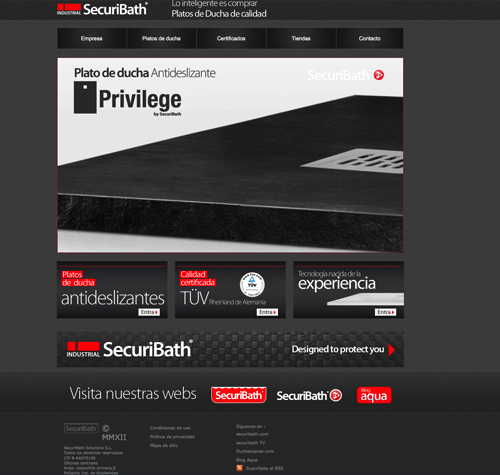 Nueva Web de Securibath