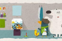 ilustraciones kids accesorios de baño