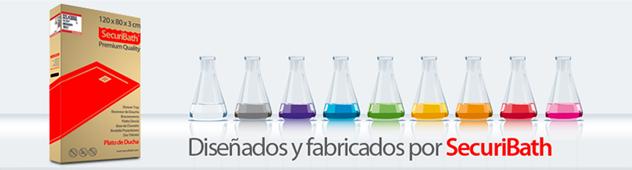 Platos de ducha antideslizantes diseñados y fabricados por SecuriBath