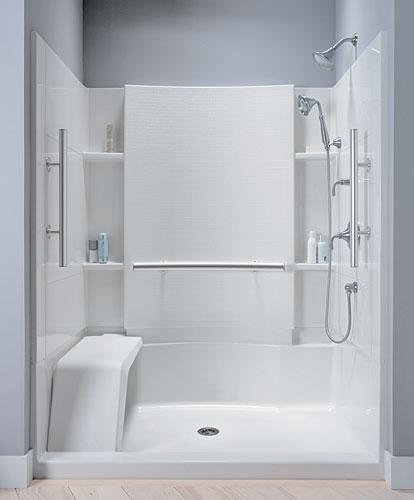 Ducha pensada para personas mayores aqua Instalacion cabina ducha