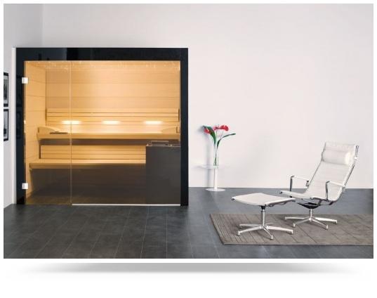 "Sauna de diseño para disfrutar del ""wellness"" en casa"