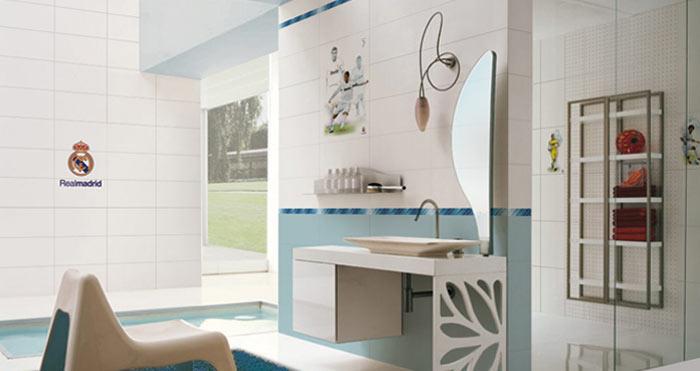 azulejos del real madrid para el ba o aqua