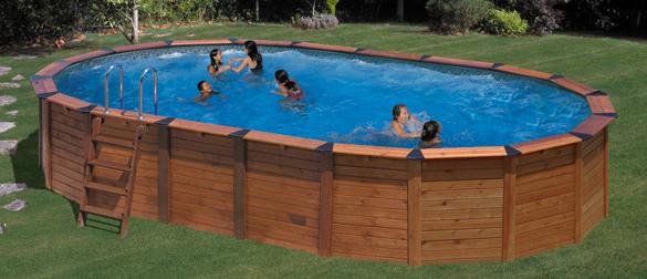 Piscinas desmontables para el verano aqua for Piscinas economicas