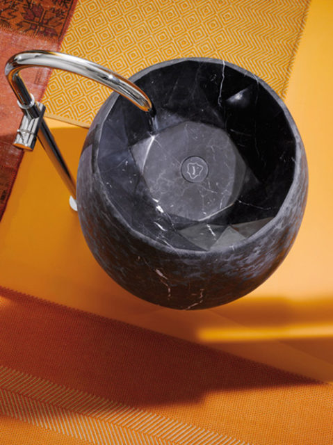 lavabo ypsilon de marmol Gem