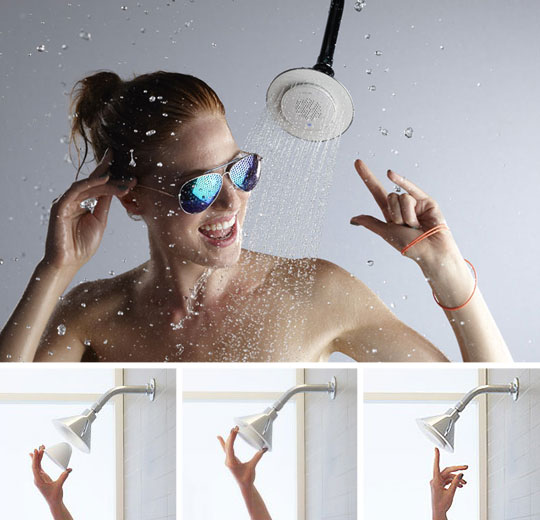 Grifo altavoz para cantar en la ducha aqua - Como funciona grifo termostatico ...