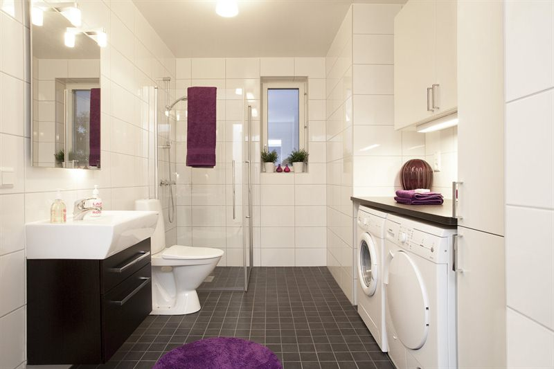 La lavadora en el ba o por qu no aqua - Instalar lavadora en bano ...