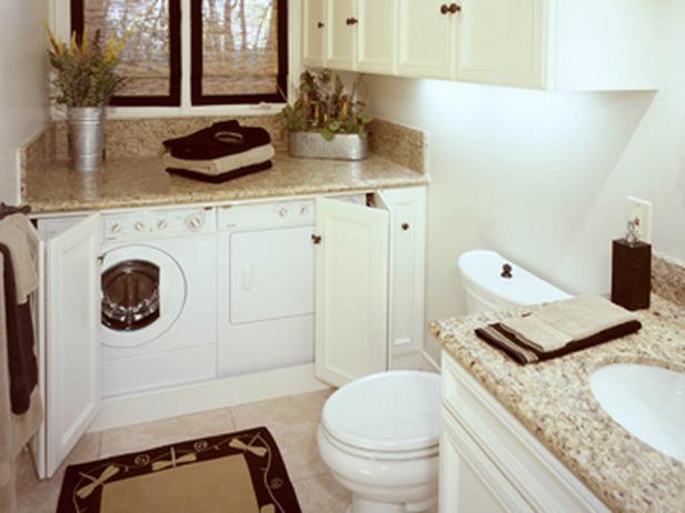 Baño Pequeno Lavadora:lavadora_baño