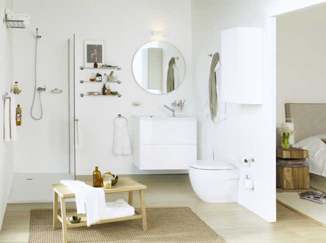 Pr cticos accesorios de ba o que no necesitan taladro aqua for Accesorios para ducha