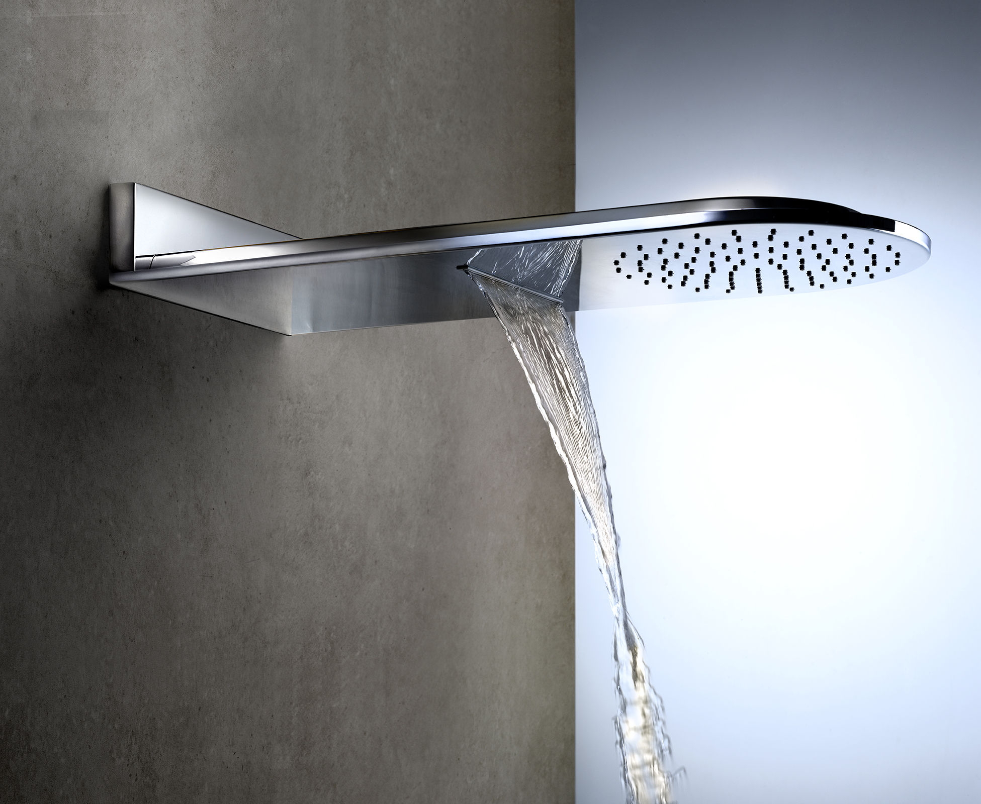 El nuevo rociador con cascada de ramon soler aqua - Rociador ducha pared ...