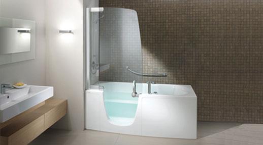 Ba era o ducha teuco ofrece una soluci n que combina los dos aqua - Vasca da bagno combinata ...