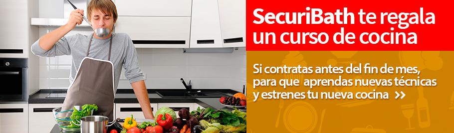 Reforma tu cocina con securibath y te regalamos un d a for Curso cocina getafe