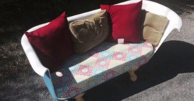 Bañera-sofa