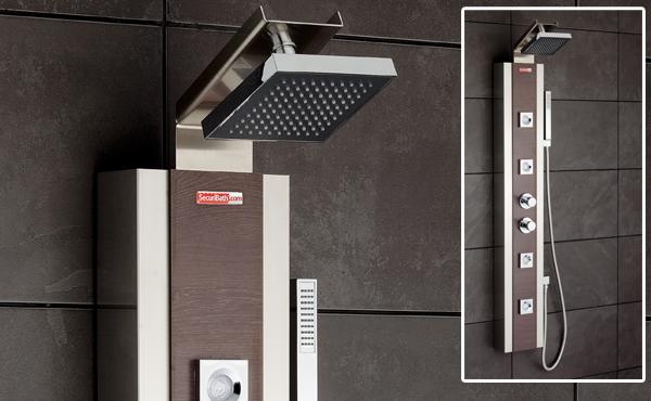 Ventajas de los distintos sistemas de ducha aqua for Columnas de ducha