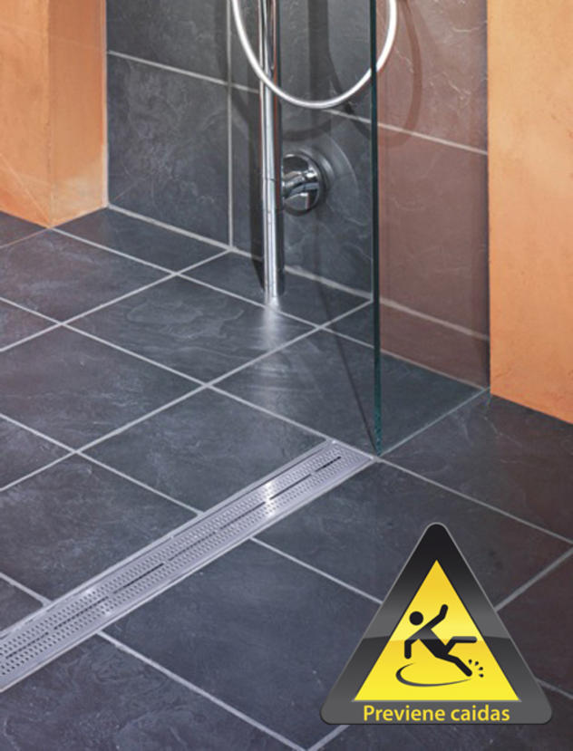 Contour los platos de ducha de obra de securibath aqua - Plato de ducha de obra ...