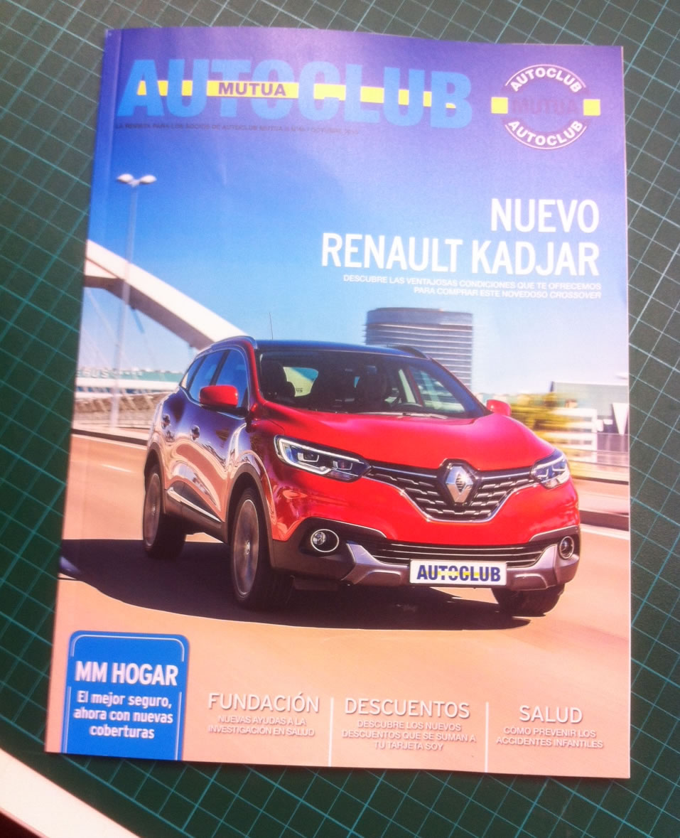 Securibath en la revista Autoclub Mutua
