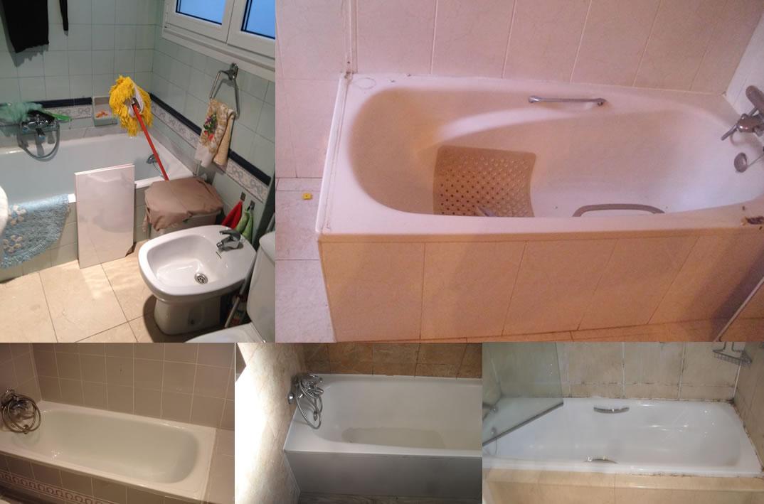 El antes de un cambio de bañera por plato de ducha