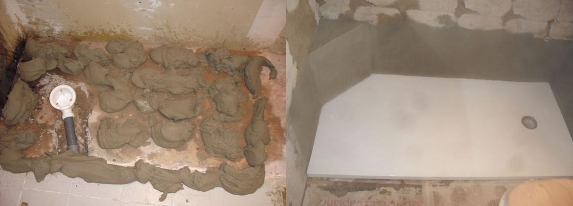 El antes y el despu s en un cambio de ba era por plato de - Cambio de banera por plato de ducha sin obras ...