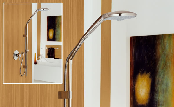 Diferentes tipos de sistemas de ducha para tus necesidades for Tipos de duchas