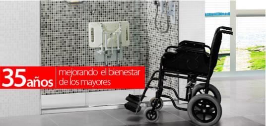 SecuriBath lleva 35 años apoyando a las personas con discapacidad