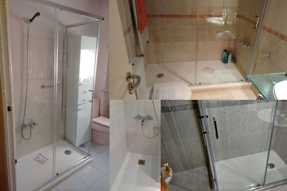 Antes y despu s de un cambio de ba era por plato de ducha for Cambiar banera por ducha