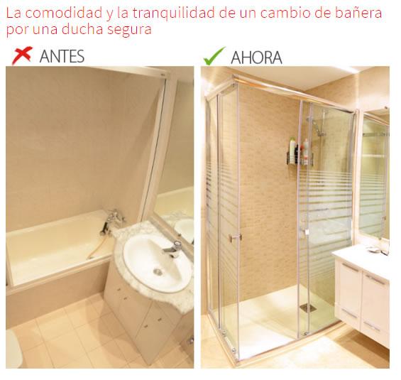 C mo cambiar una ba era por un plato de ducha aqua - Cambiar banera por ducha en madrid ...