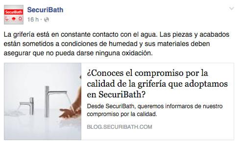 compromiso SecuriBath grifería