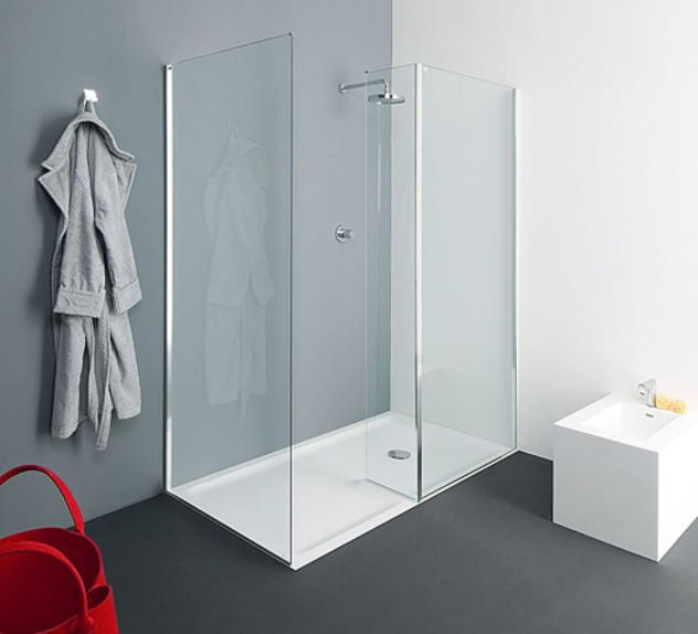 limpiar una ducha