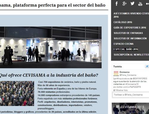 Cevisama Baño reúne 700 expositores del sector