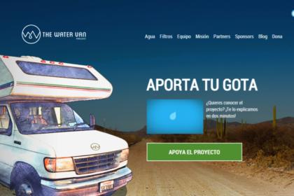 The Water van Project para potabilizar agua