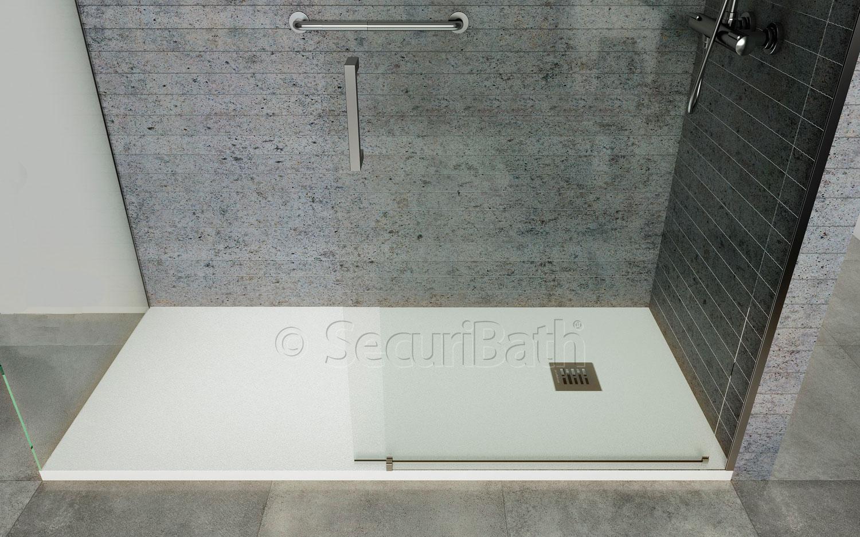 Plato de ducha por bañera