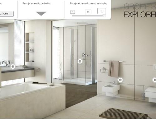Planifica la reforma de baño con el configurador 3D de Grohe