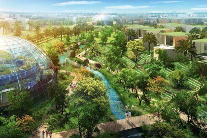 Grohe y ciudad verde de Dubai