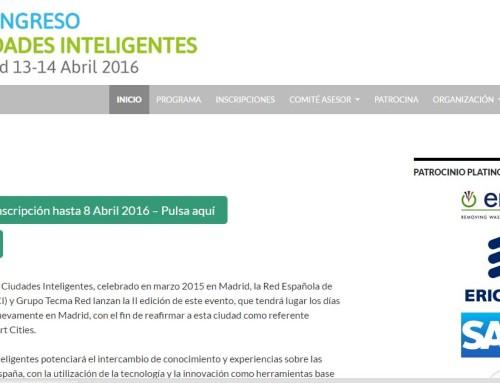 Madrid acoge el II Congreso de Ciudades Inteligentes
