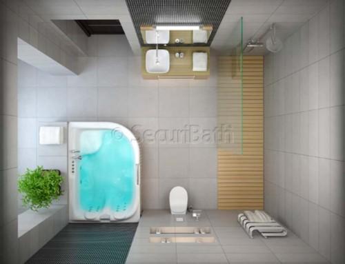 ¿Te gustan los cuartos de baño de película?