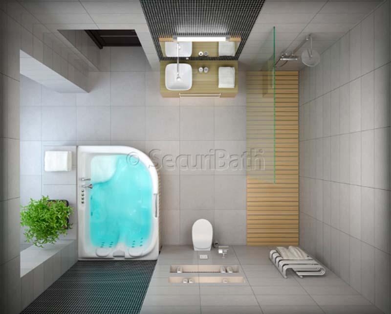 cuartos de baño de película