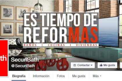 redes sociales de SecuriBath: Facebook