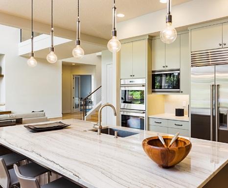 Luces cocina iluminacin interior en mueble de cocina xey for Iluminacion encimera