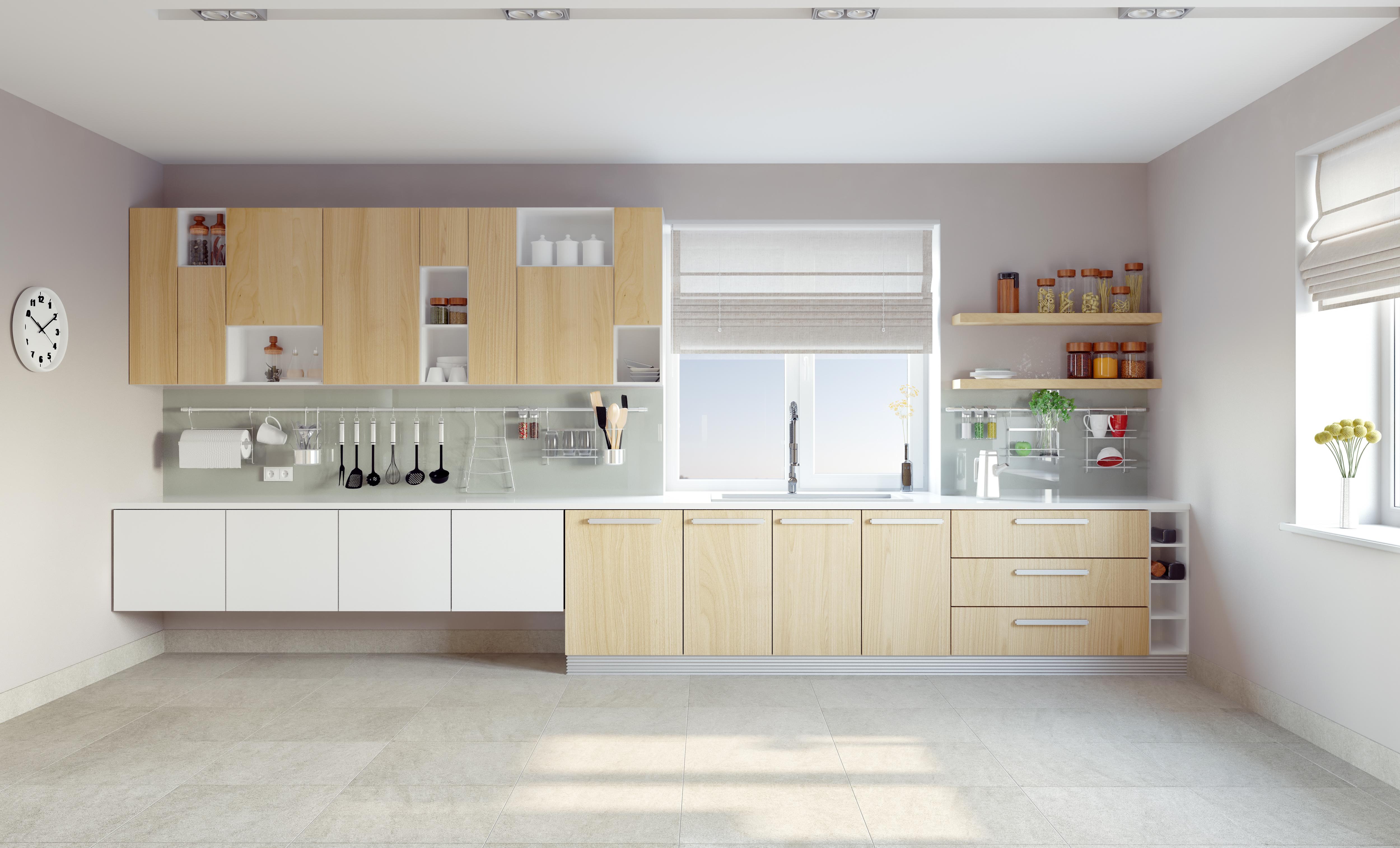 Como reformar una cocina peque a aqua for Como aprovechar una cocina pequena