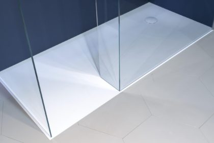 Aqua descubre las ltimas tendencias sobre espacios de - Plato ducha corian ...