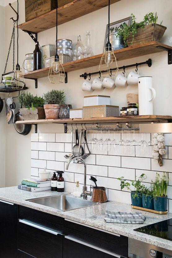 Decoracion Cocina Vintage | Reformas De Cocina Con Estilo Vintage Aqua