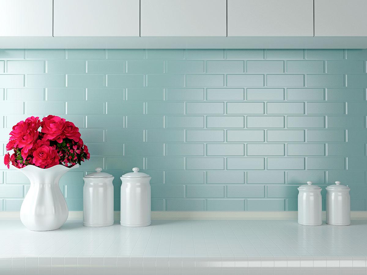 Reformar la cocina sin quitar los azulejos aqua - Paredes de cocina sin azulejos ...