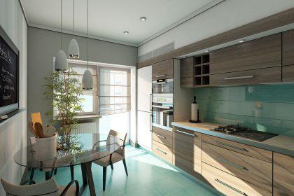 Reformar la cocina sin quitar los azulejos