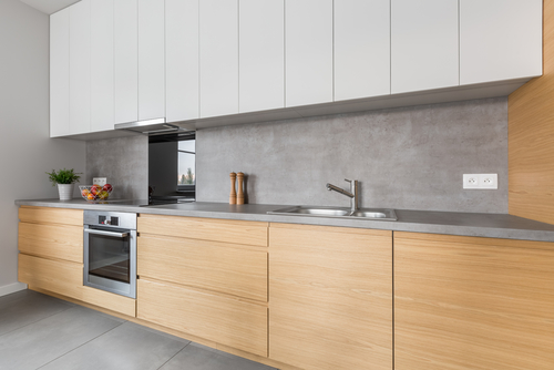 Reformar cocina con microcemento