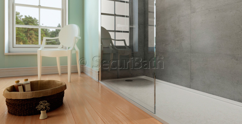 Securibath empresa espa ola pionera en la producci n a - Banera para plato de ducha ...