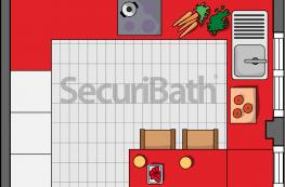 Distribución de la cocina